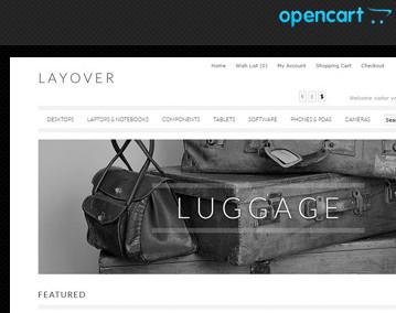 OpenCart шаблон