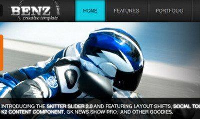 Joomla 2.5 шаблон Benz — Pcadviser