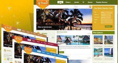 Joomla 2.5 шаблон SJ Travel II — SmartAddons