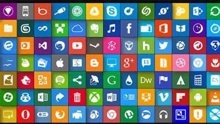 10 бесплатных наборов плоских иконок